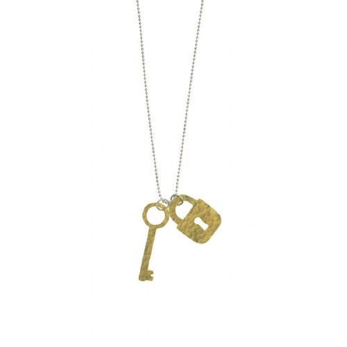 Lock & Key Pendant